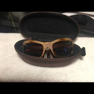 Sunglasses with case